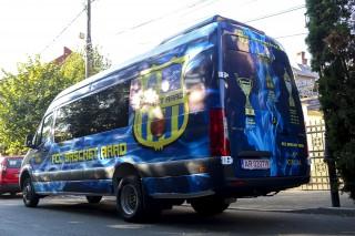 VIDEO | FCC Baschet Arad prinde viteză! Arădencele vor călători cu un microbuz personalizat