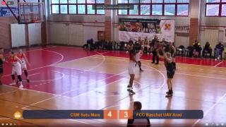 LIVE VIDEO   Satu Mare – FCC Baschet UAV Arad