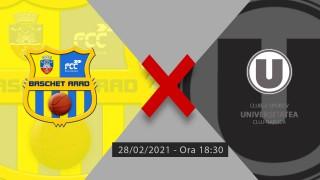 LIVE | FCC Baschet UAV - U Cluj Napoca