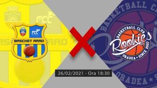 LIVE | FCC Baschet UAV - CSU Rookies Oradea