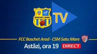 LIVE |  FCC Baschet Arad - CSM Satu Mare