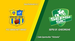LIVE VIDEO: FCC Baschet Arad - Sepsi SIC