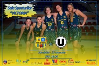 LIVE VIDEO | FCC Baschet Arad vs Universitatea Cluj-Napoca